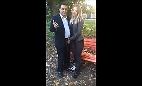 Rebecca e Luna pompino al parco  di Pordenone